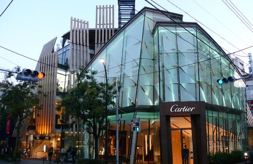 カルティエ南青山店