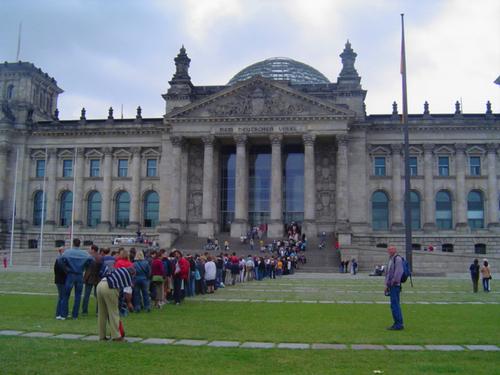 ドイツ連邦議会議事堂 ライヒスターク