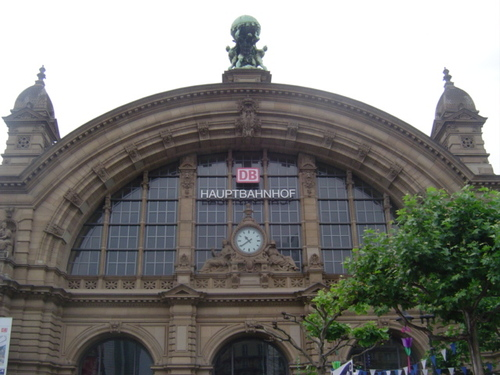 フランクフルト中央駅