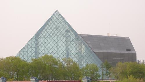 ガラスのピラミッド(モエレ沼公園)